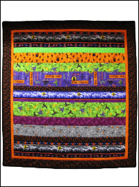 Halloween Baby Quilt THUMBNAIL