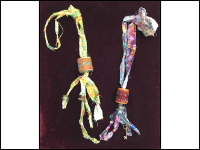 Kids' Embroidered Spool Necklace THUMBNAIL