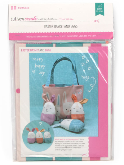 Easter Basket and Eggs Kit by Stacy Iest Hsu for Moda MAIN