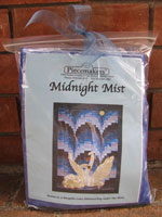 Midnight Mist Fabric and Embellishment Kit SWATCH