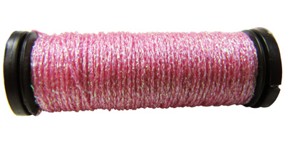Kreinik #8 Braid - 092 Pink Sparkle MAIN