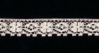"3/4"" Wide Decorative Lace Trim – Peach THUMBNAIL"