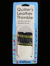 Quilter's Leather Thimble THUMBNAIL