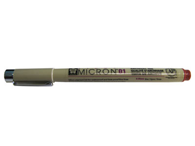Pigma Micron 01 Brown MAIN