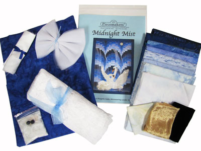 Midnight Mist Fabric and Embellishment Kit MAIN