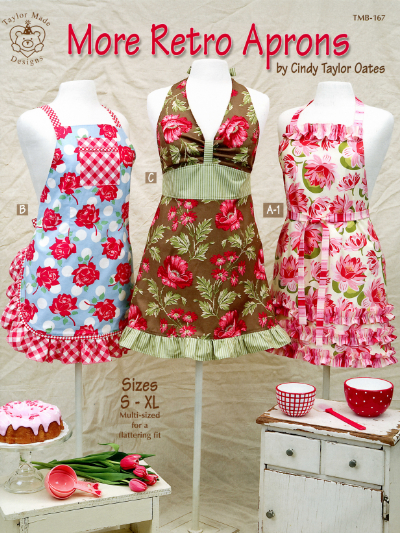 More Retro Aprons – by Cindy Taylor Oates MAIN