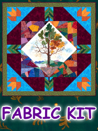 Nature's Serenade Fabric Kit (with OR without pattern) THUMBNAIL