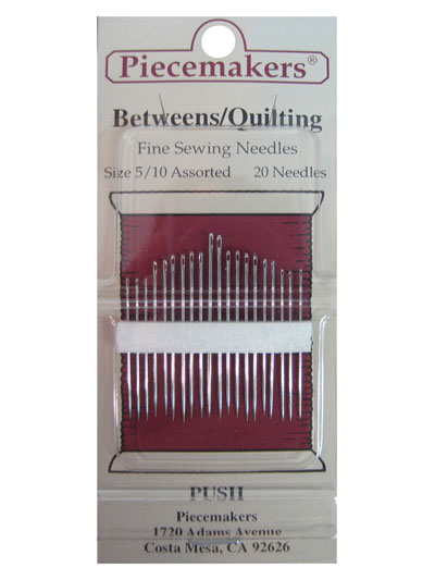 Piecemakers Betweens/Quilting Needles Size 5/10 Assorted MAIN