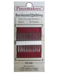 Piecemakers Betweens/Quilting Needles Size 9 THUMBNAIL