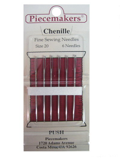 Piecemakers Chenille Needles Size 20 MAIN
