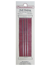 "Piecemakers Dollmaking Needles 3 1/2"" THUMBNAIL"