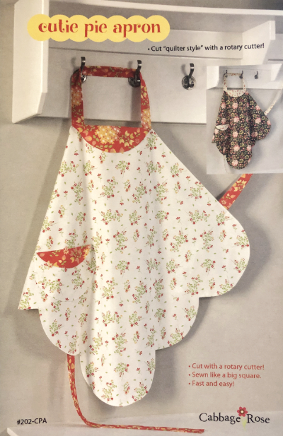 Cutie Pie Apron by Cabbage Rose MAIN