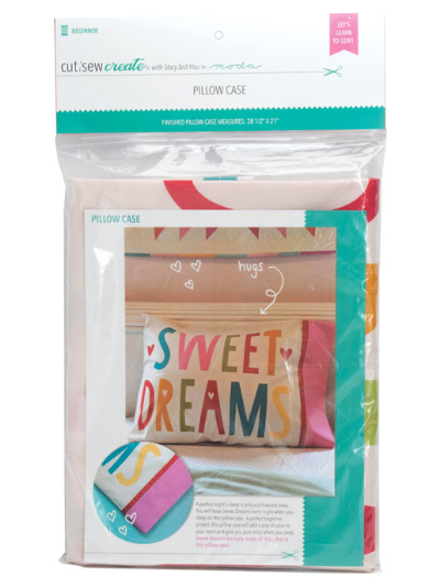 Sweet Dreams Pillow Case Kit by Stacy Iest Hsu for Moda MAIN