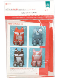 Forest Animal Plushies Kit by Stacy Iest Hsu for Moda THUMBNAIL