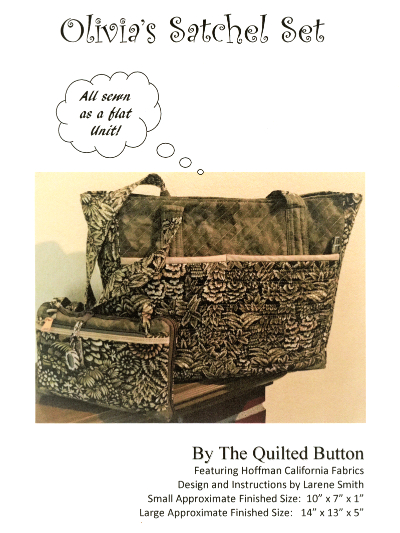 Olivia's Satchel Set by The Quilted Button MAIN
