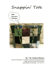 Snappin' Tote by The Quilted Button THUMBNAIL