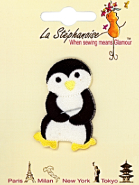 Dancing Penguin #1 Appliqué by La Stéphanoise - # 15741 col. 002 THUMBNAIL