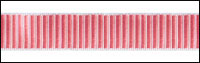 Pink/Cream Reversible Ridged Woven Trim - # HD-20 col. 21 THUMBNAIL