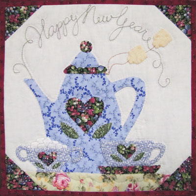 Tea Time Toast Pattern MAIN