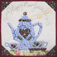 Tea Time Toast Pattern THUMBNAIL