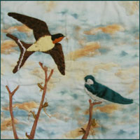 A Tale of Two Swallows Pattern THUMBNAIL