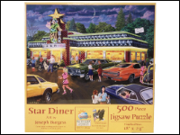 """Star Diner"" Suns Out Puzzle THUMBNAIL"