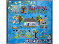 """In the Countryside"" Wool Applique with Mama Lohde THUMBNAIL"