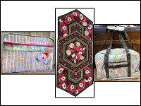 Monthly Machine Applique, Seasonal Banners, Jelly Roll Rugs and More THUMBNAIL