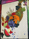 "Piecemakers 2014 Calendar Quilt — ""A Fruitful Harvest"" SWATCH"