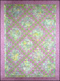 Double Irish Chain Quilt  *SALE THUMBNAIL