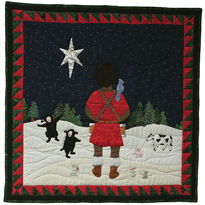Pa-rum-pa-pum-pum Wallhanging  *SALE MAIN