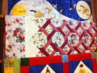 Quilts and Wallhangings Handmade by Piecemakers