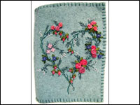 Beginning Embroidery Wistful Heart THUMBNAIL