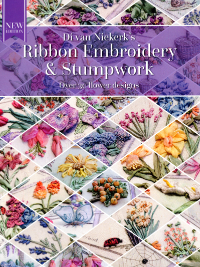 Ribbon Embroidery and Stumpwork – by Di van Niekerk * New Edition! THUMBNAIL