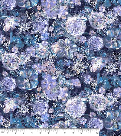 RJR Bouquet RJ2201-NA1D - Floral Eclipse - Navy MAIN