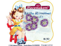 Little Rosettes by Piecemakers (5 per card) — Q THUMBNAIL