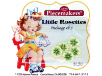 Little Rosettes by Piecemakers (5 per card) — T THUMBNAIL