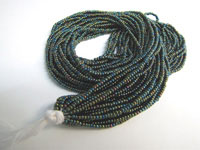Seed Beads - Green Iris AB - 11/0 THUMBNAIL