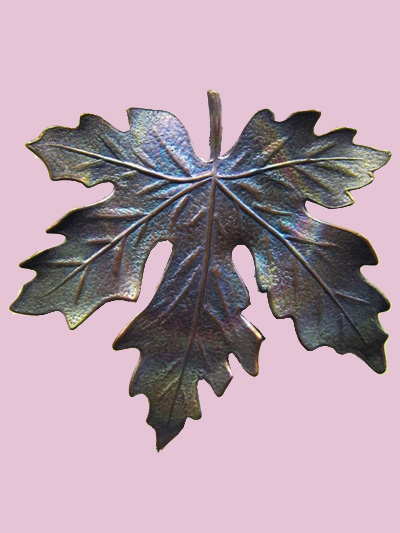 Susan Clarke - Large Leaf Button MAIN