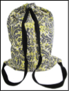 Schlepper Backpack – Black, Yellow, White and Gray SWATCH