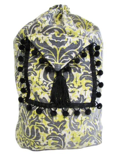Schlepper Backpack – Black, Yellow, White and Gray MAIN