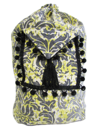 Schlepper Backpack – Black, Yellow, White and Gray THUMBNAIL