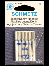 Schmetz Jeans/Denim Needles   #1712 THUMBNAIL