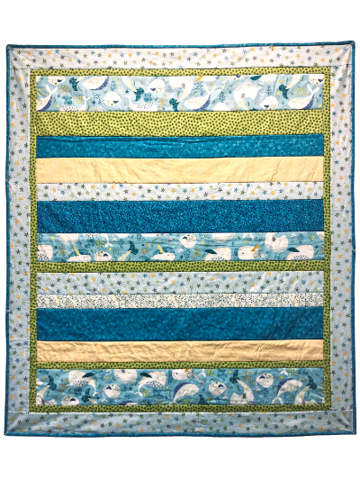 """Under the Sea"" Baby Quilt MAIN"