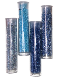 Seed Bead Tube Bundle – Blue THUMBNAIL