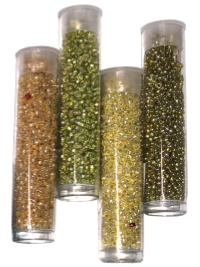 Seed Bead Tube Bundle – Gold THUMBNAIL
