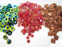 Craft Sequins by Colour Streams of Australia in Various Shapes & Colors