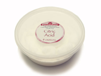 Citric  Acid — 4 ounces MAIN