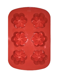 Soap Mold — Flowers THUMBNAIL