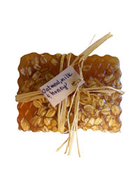 Oatmeal, Milk & Honey Scented Soap THUMBNAIL